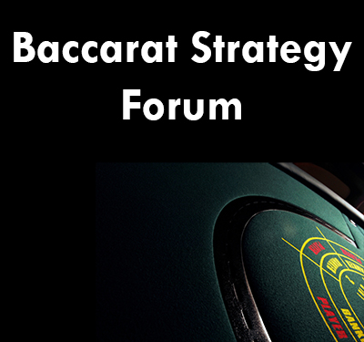 best baccarat strategy forum
